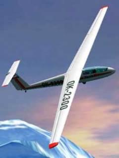 Glider L-23 Super Blanik 50 Shades