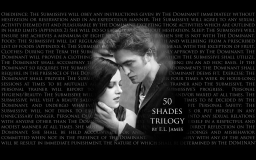 50 Shades Desktop wallpaper